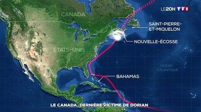 Le Canada, dernière victime de l'ouragan Dorian