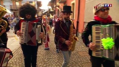 Le carnaval d'Etroubles, une fête haute en couleurs pour chasser l'hiver