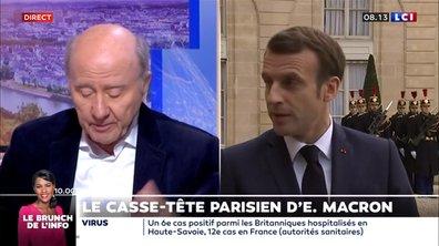 Le casse-tête parisien d'Emmanuel Macron