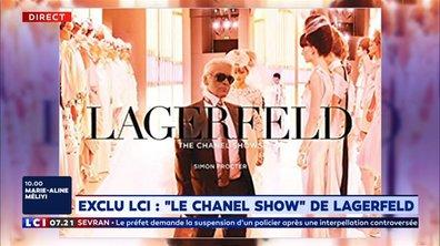 """""""Le Chanel show"""" de Lagerfeld"""