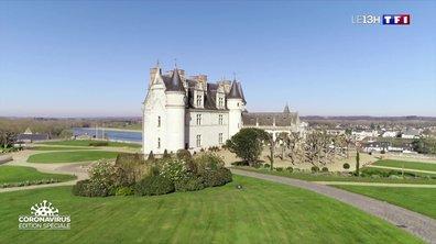 Le château d'Amboise à l'heure du confinement