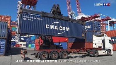 Le commerce mondial perturbé : où sont passés les conteneurs ?