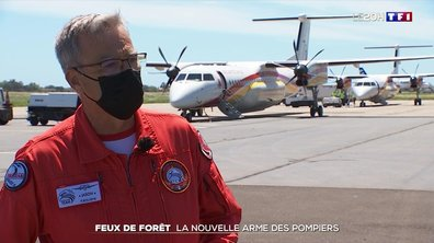 Le Dash 8, la nouvelle arme des pompiers pour lutter contre les feux de forêt