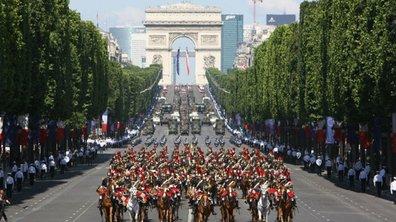 Le défilé du 14 juillet 2013