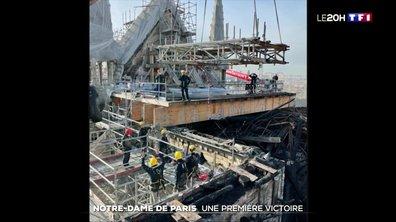 Le démontage de l'échafaudage de Notre-Dame enfin terminé