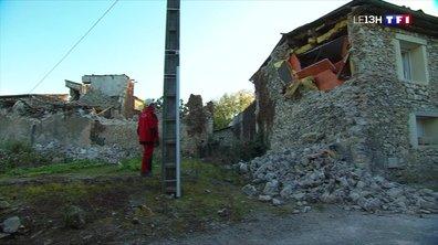 Le désarroi des habitants du Teil au lendemain du séisme
