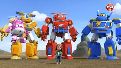 Super Wings - Le dessin géant