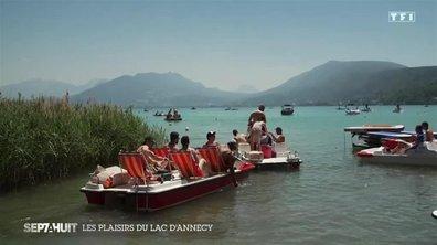 Le diamant des Alpes : les plaisirs du lac d'Annecy