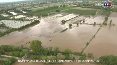 Le Gard sous les eaux : la stupeur des habitants face à la violence des orages