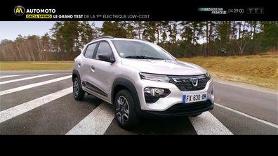Le grand test de la Dacia Spring