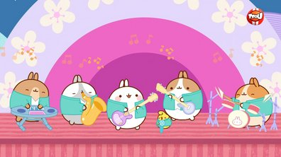 Molang - Le groupe de rock