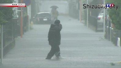 Le Japon se prépare à subir le passage du typhon Hagibis