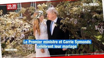 Le mariage trop secret de Boris Johnson