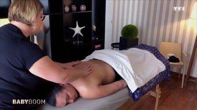 Le massage post-accouchement : un pur moment de détente pour jeune maman