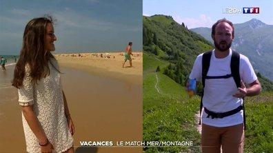 Le match des régions : entre mer et montagne, lequel choisir pour nos vacances ?
