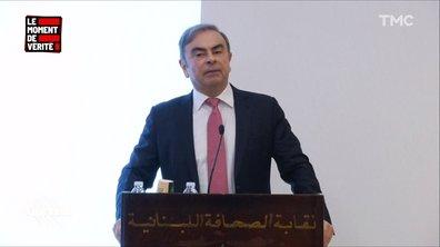 Le Moment de vérité : à la conférence de presse de Carlos Ghosn