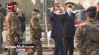 Le Moment de vérité : Emmanuel Macron se déplace-t-il trop pendant le confinement ?