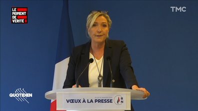 Le Moment de vérité : pourquoi Marine Le Pen refuse de s'exprimer sur la grève
