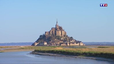 Le Mont-Saint-Michel à l'arrêt