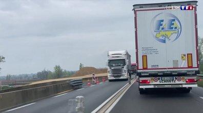 Le passage des camions, un poids lourd à supporter dans les villages de l'Allier