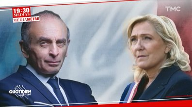 19h30 Médias – Médiamètre : l'alliance Zemmour/Le Pen est-elle possible ?