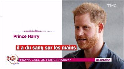 Le Petit Q : le prince Harry piégé par une fausse Greta Thunberg