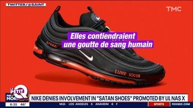 """Le Petit Q : les """"Satan shoes"""" de Lil Nas X"""