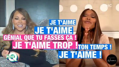 Le Petit Q: Mariah Carey en HD face à Naomi Campbell