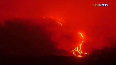 Le Piton de la Fournaise en éruption, un spectacle unique et hypnotique