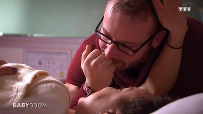Le plein d'émotion : ce papa craque au moment de la naissance de son fils