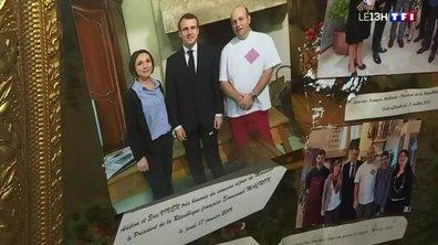 Le plus beau village de France accueille Emmanuel Macron