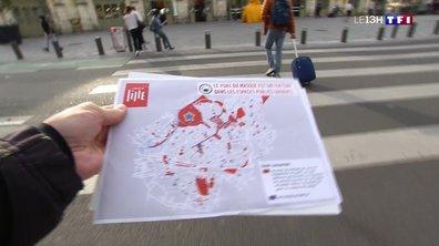 Le port du masque obligatoire dans les rues les plus fréquentées de Lille