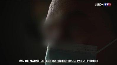 Le récit du policier brûlé par un mortier à Bonneuil-sur-Marne