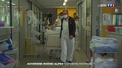 Le recul de l'épidémie se ressent-il aussi en Rhône-Alpes ?