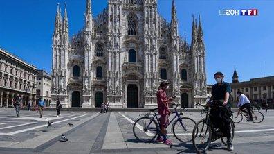 Le retour à une vie presque normale à Milan