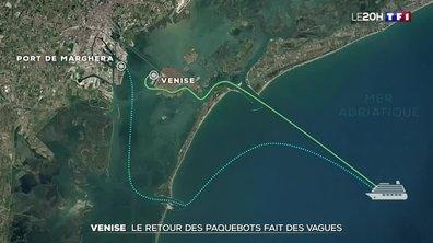 Le retour des paquebots fait des vagues à Venise