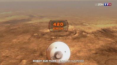 Le robot Perseverance à l'assaut de Mars : un atterrissage très risqué