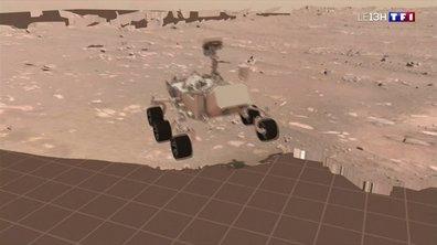Le robot Perseverance fait ses premiers pas sur Mars