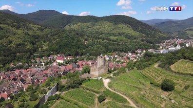 Le secteur touristique à l'arrêt en Alsace