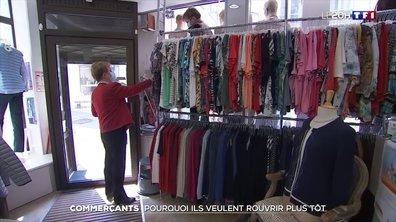 Le SOS des commerçants face au flou de la réouverture