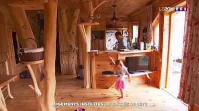 Le succès des logements insolites pour les vacances d'été