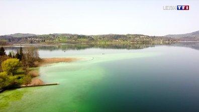 Le temps n'a pas de prise sur le lac d'Aiguebelette