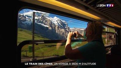Le train des cimes : un voyage à 3500 m d'altitude pour admirer les Alpes suisses