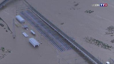 Le typhon Hagibis cause d'importants dégâts