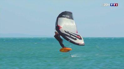 Le wing foil, le sport nautique qui s'envole