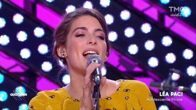 """Lea Paci : """"Adolescente pirate"""" en live dans Quotidien"""
