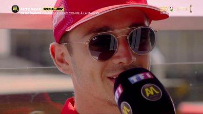 """F1 - Charles Leclerc: """"Avec Vettel, on a trouvé le bon compromis"""""""