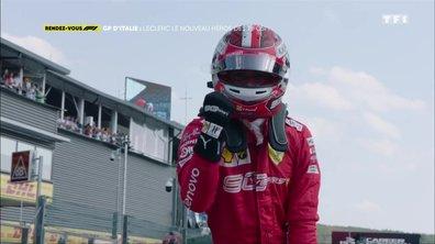 Gp d'Italie : Charles  Leclerc, le nouveau héros des Tifosi