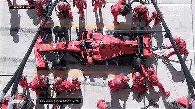Grand Prix des Etats-Unis : arrêt prolongé pour Leclerc