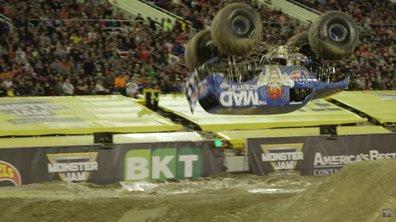 Insolite : Un saut spectaculaire et historique en Monster Truck !